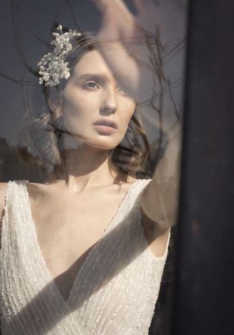 مجموعة فساتين الزفاف الجاهزة لعام 2022 من تصميم سعيد قبيسي