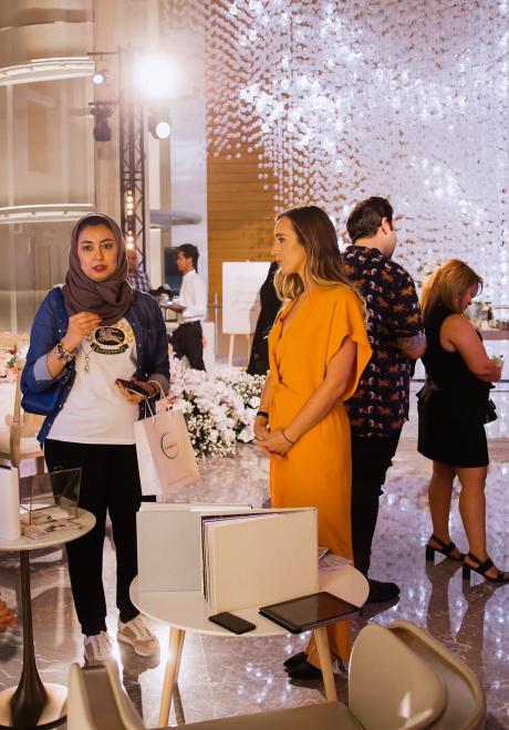 Arabia Weddings and Dubai Opera Host a Bridal Reception