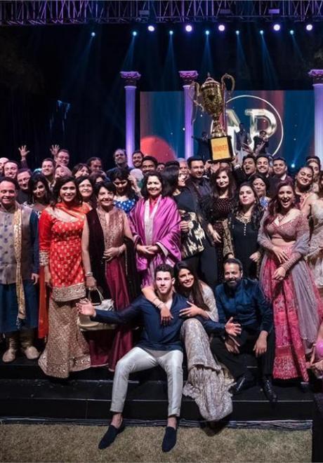 Pictures: Priyanka Chopra and Nick Jonas' Sangeet Ceremony
