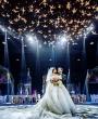 حفل زفاف من وحي الحديقة الفرنسية من تنظيم آي كاندي