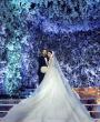حفل زفاف بثيم الجنة من تنظيم ويدينجز آر أس غاده بلانكو