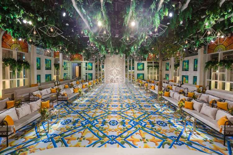 A Sicilian Wedding Theme in Riyadh