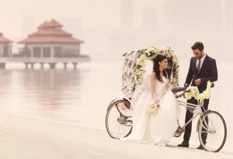 أشهر أماكن الزفاف الشاطئية في دبي