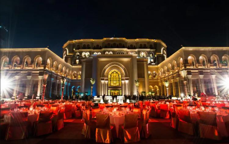 Outdoor Wedding Venues in Abu Dhabi