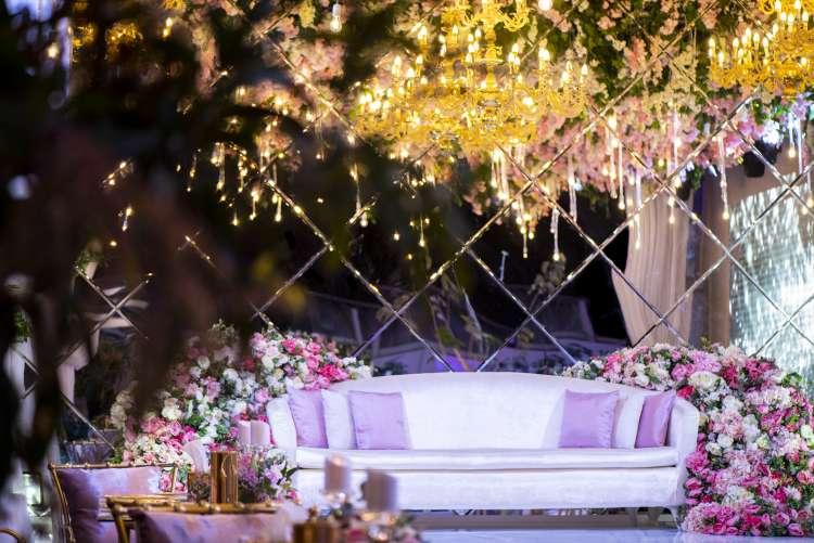 A Full Bloom Intimate Wedding in Qatar