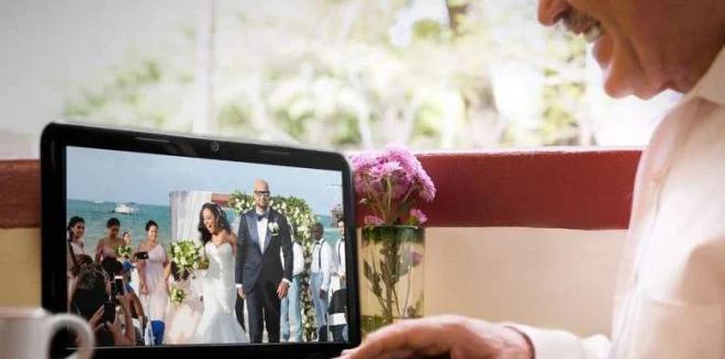كيفية بث حفل الزفاف على الإنترنت!