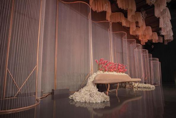 Stunning Kosha Designs from Weddings in Riyadh