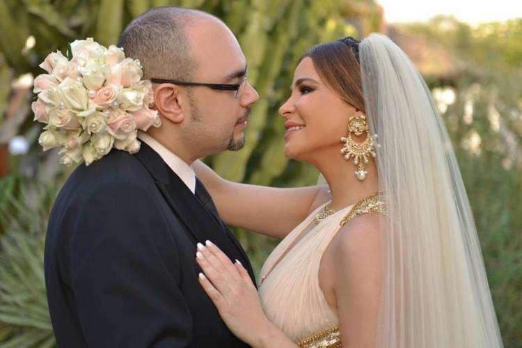 حفل زفاف كارول سماحة ووليد مصطفى