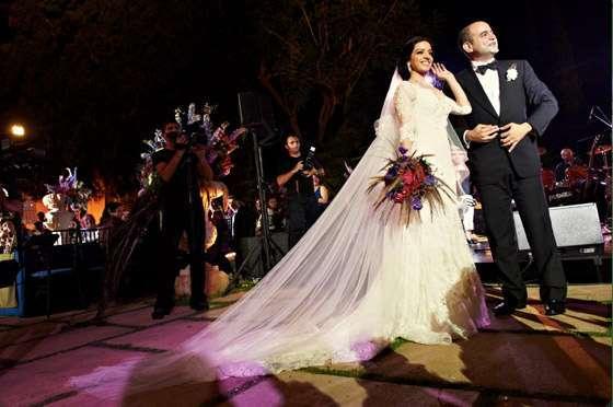 Leila Kanaan and Wadih Safi Aldeen's Wedding