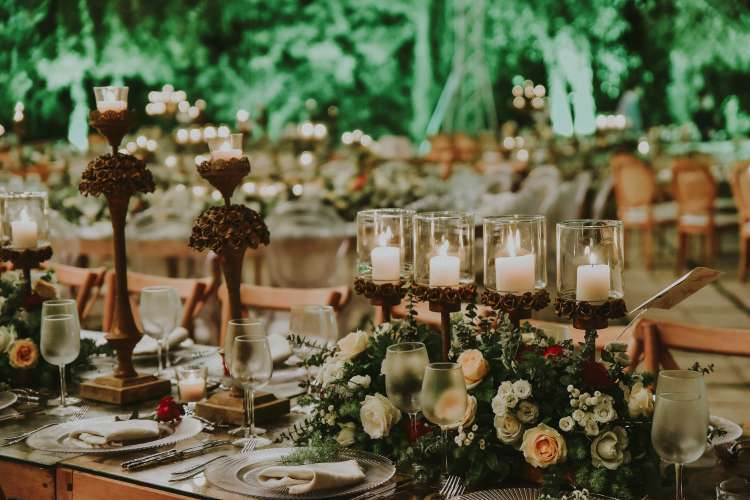 Beautiful Rustic Wedding Colors for Summer