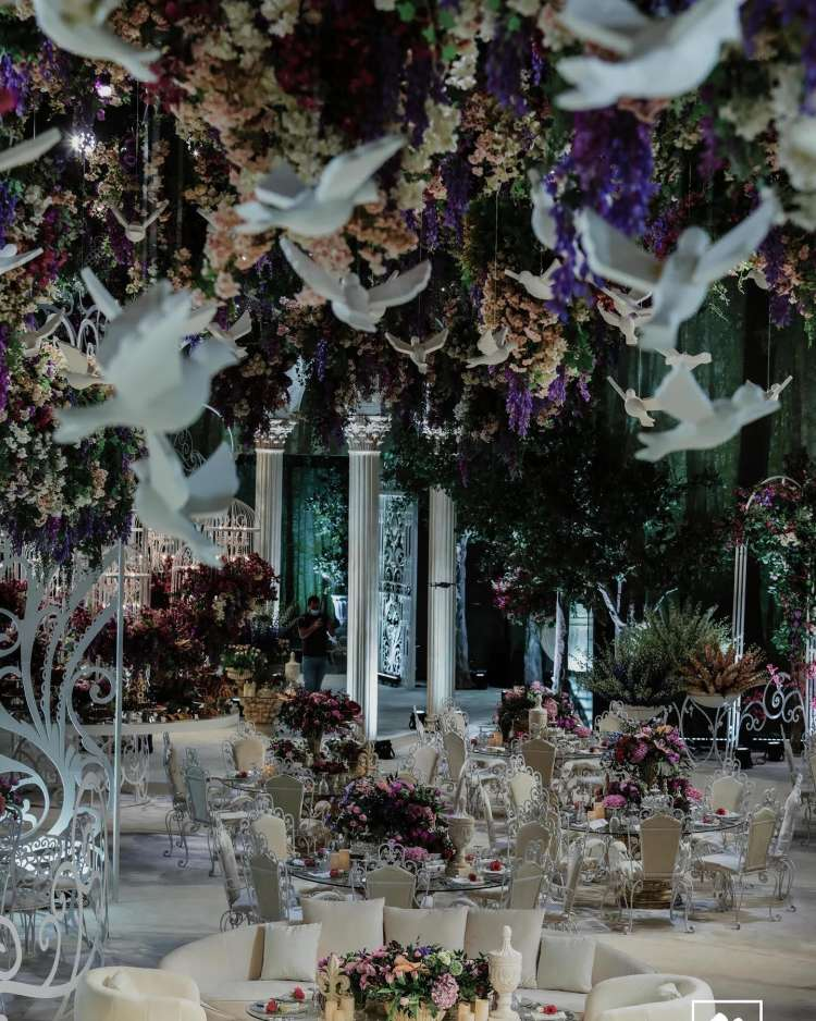 The Magical Wedding of Sheikha Al Anoud and Sheikh Abed Alrahman in Doha