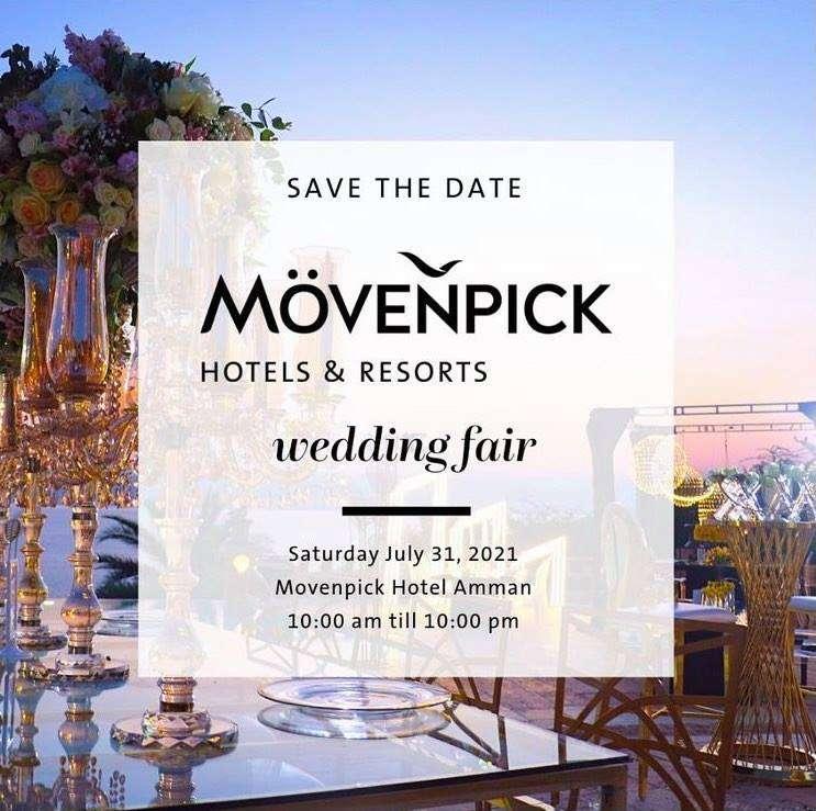 Jordan's 5 Movenpick Hotels Planning a Wedding Fair