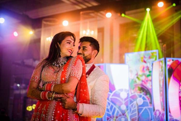 حفل زفاف هندي فاخر لمدة 3 أيام في دبي