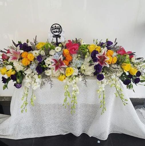 أزهار السفير - أبو ظبي