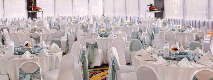 قاعة الراشدية الكبرى،فندق روضة البستان - دبي