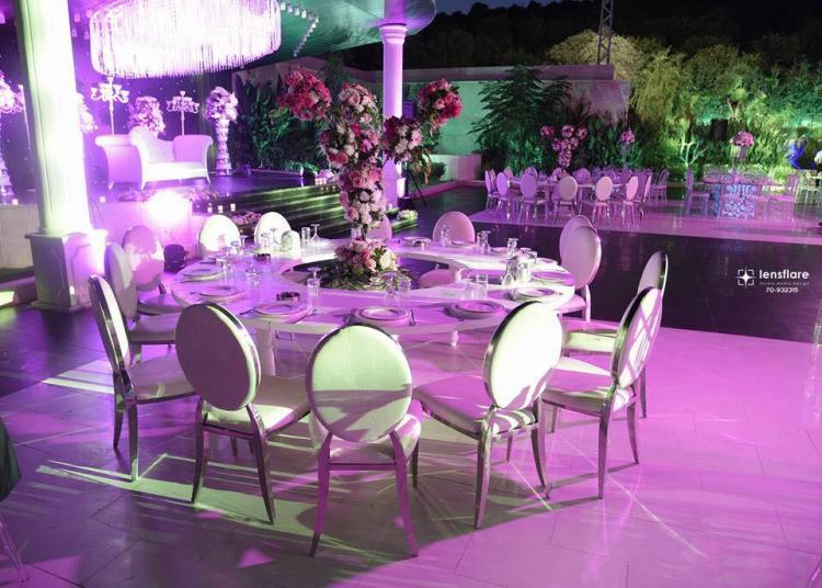 قاعة الزفاف كريستال - حنوب لبنان