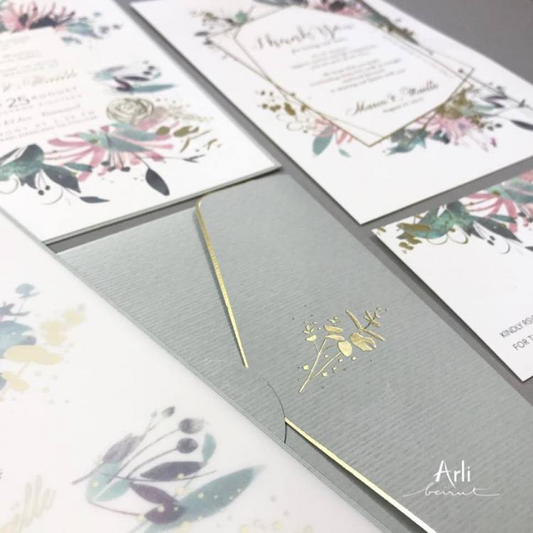 Arli Wedding Cards - Lebanon