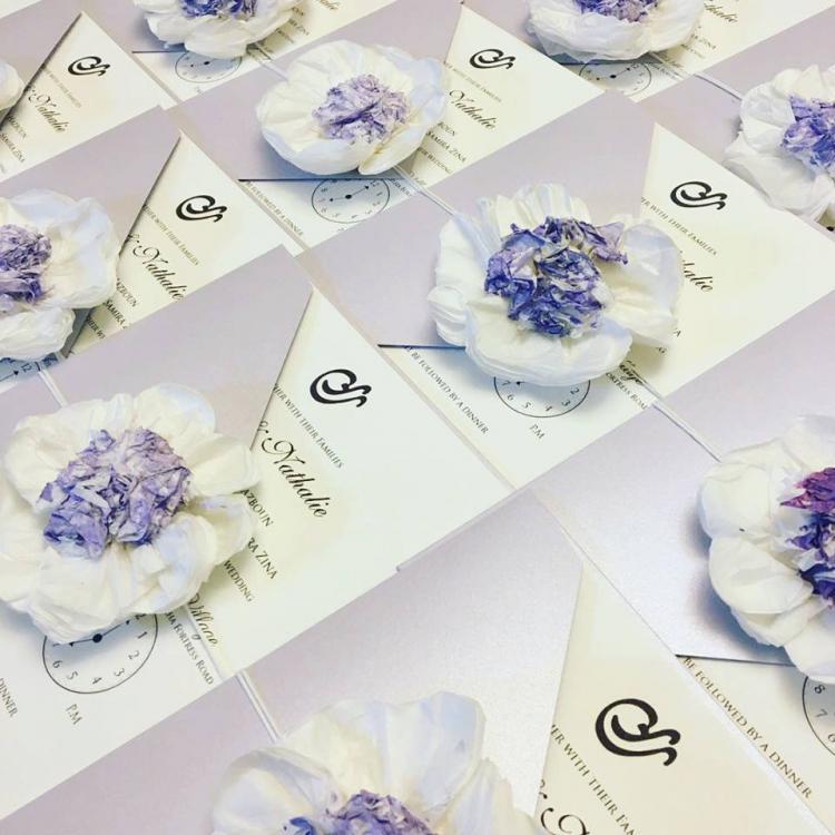 بطاقات زفاف لا بابيول - لبنان