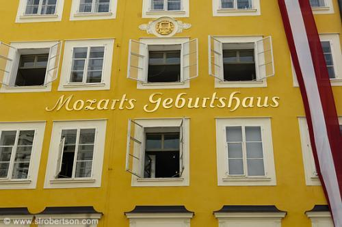 Mozart's Birthplace and Homes in Salzburg