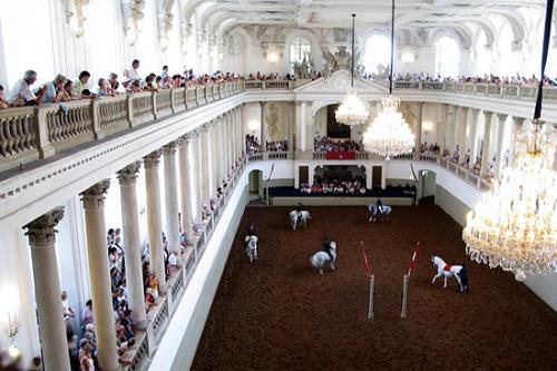 The Spanish Riding School in Vienna