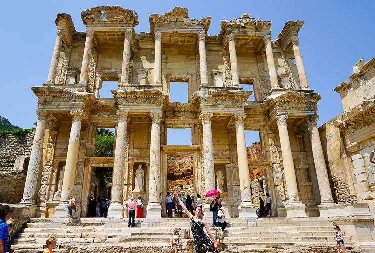 Ephesus near Bodrum in Turkey