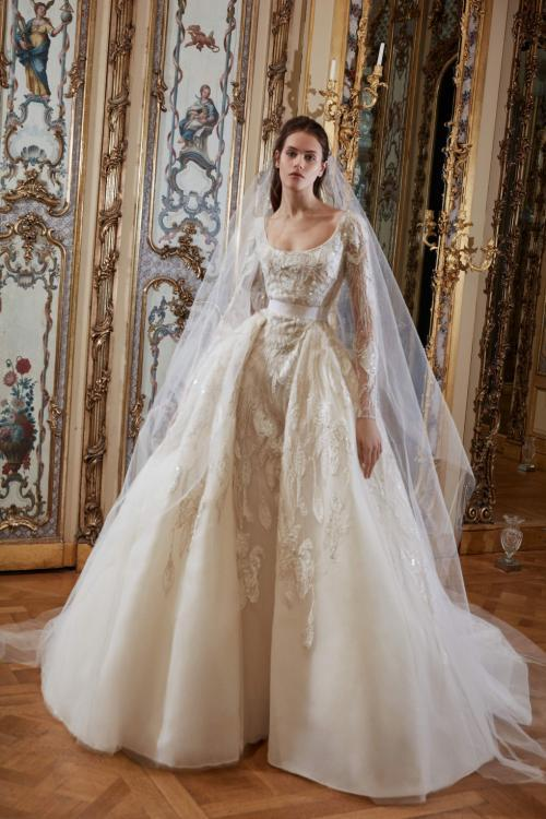 Elie Saab wedding dress designer