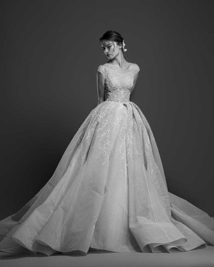 Georges Hobeika wedding dress designer