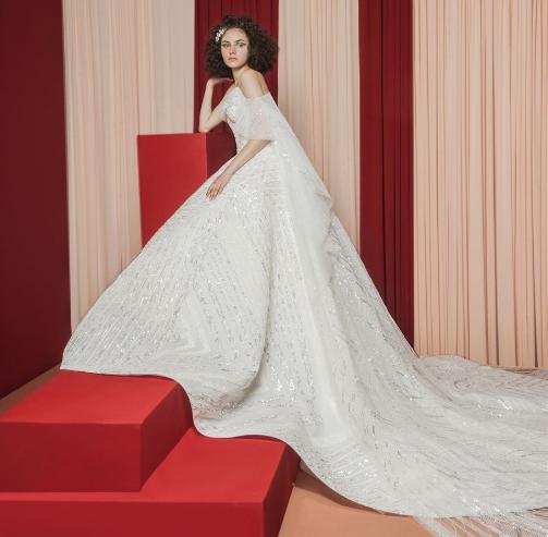Rami Kadi wedding dress designer