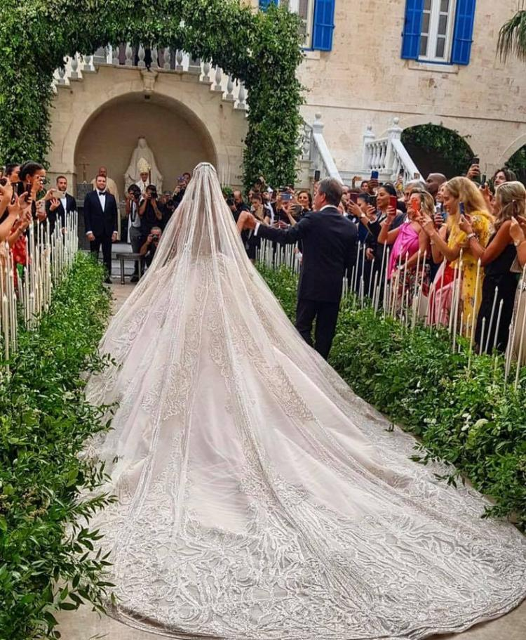Elie Saab Jr Wedding