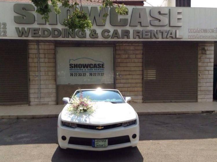 Showcase Wedding Car rental lebanon