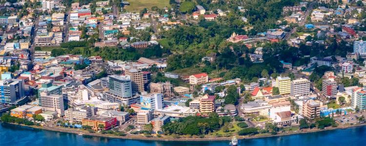 مدينة سوفا عاصمة فيجي
