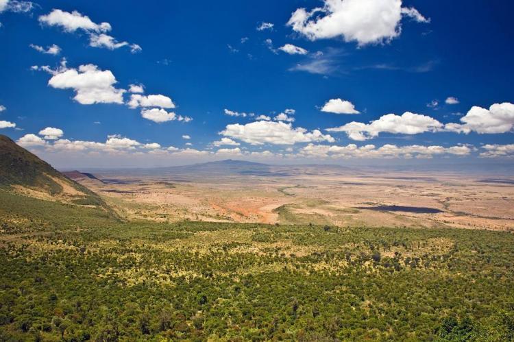 الوادي المتصدع الكبير، كينيا