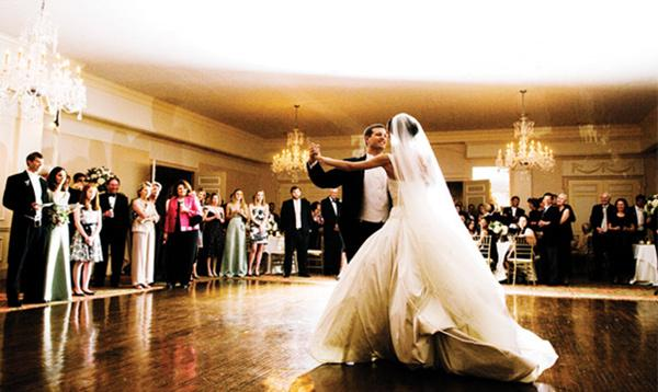 رقصة العروسين