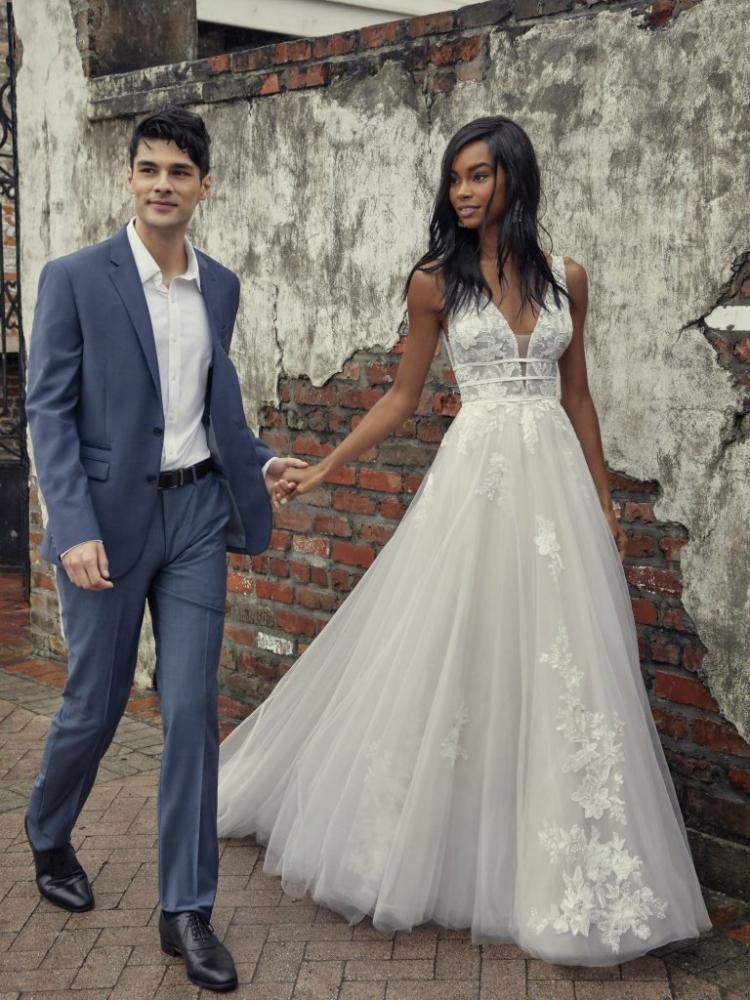 Aline Rebecca Ingram Wedding Dress - Raelym