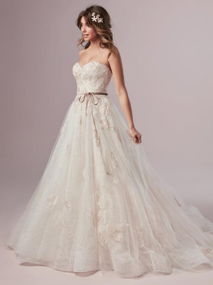 A-line Rebecca Ingram Wedding Dress - Summer