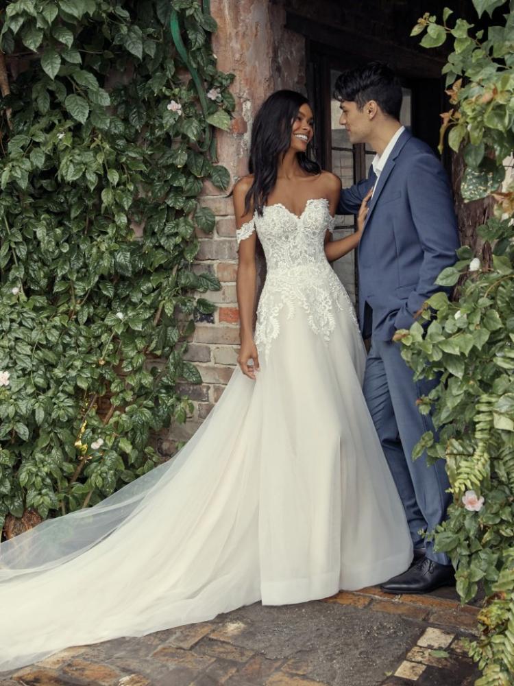 A-line Rebecca Ingram Wedding Dress - Vanessa