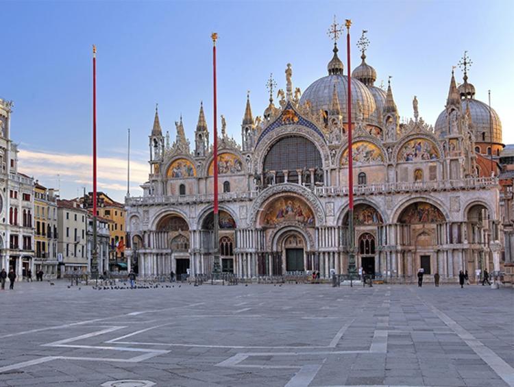 St Mark Basilica in Venice