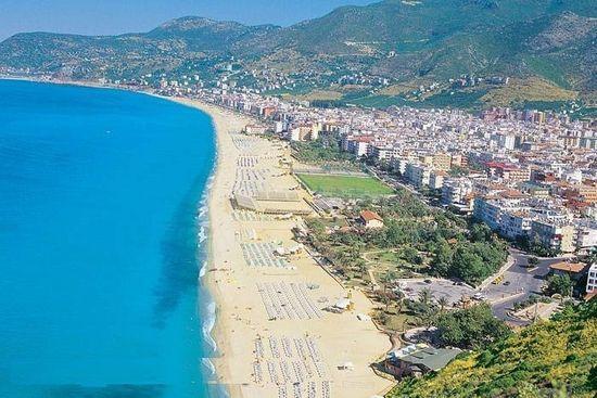 شاطئ ألانيا