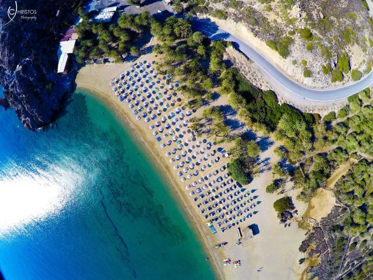 الشواطئ في جزيرة كريت