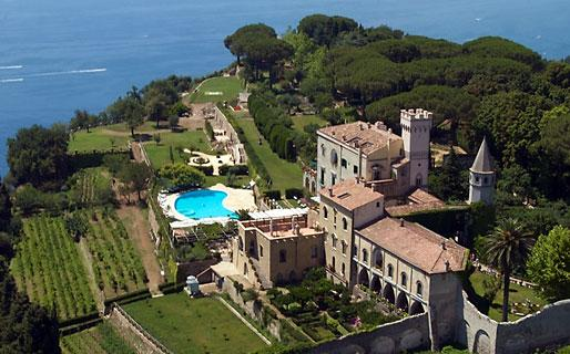 Villa Cimbrone in Italy