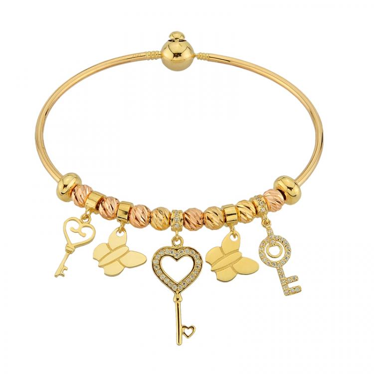 Gold bracelet by Liali