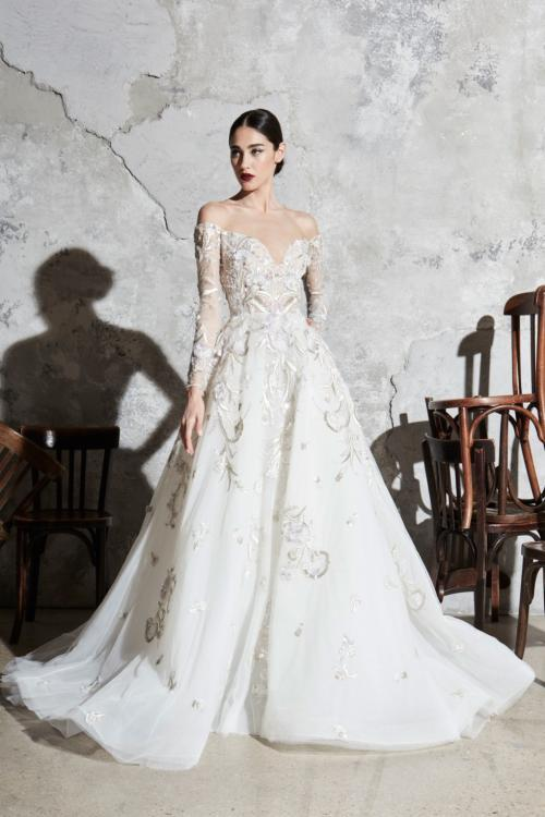 Zuhair Murad Off The Shoulder wedding dress