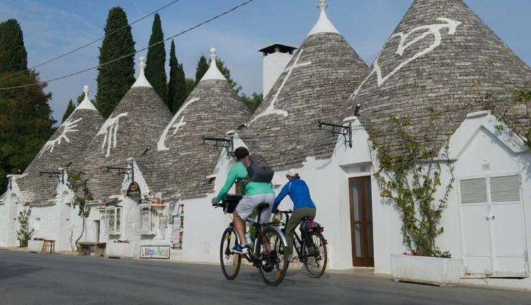 Biking activities in Puglia