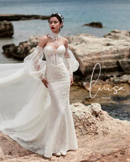 Louisa Sposa bridal designer in Puglia
