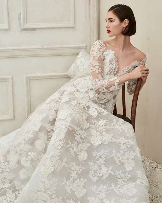 Vintage Wedding Dresses In London: Oscar De La Renta Fall 2019 Wedding Dresses